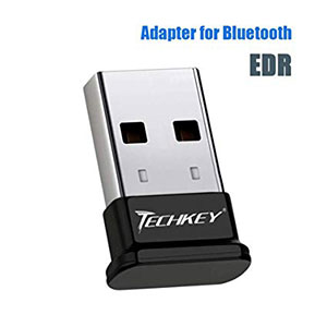 TECHKEY Bluetooth Adapter for PC USB Bluetooth Dongle 4.0