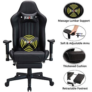 Large Size Computer Gaming Chair Ergonomic Racing Chair