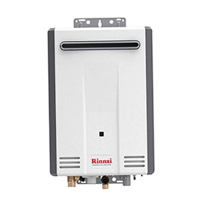 Rinnai V Series HE Tankless Hot Water Heater-Outdoor