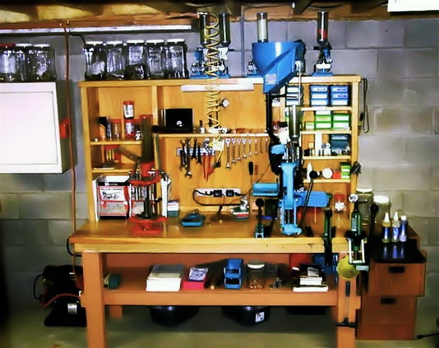 How to mount a reloading press on a bench