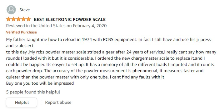 RCBS 98923 Chargemaster Combo Scale and Dispenser review