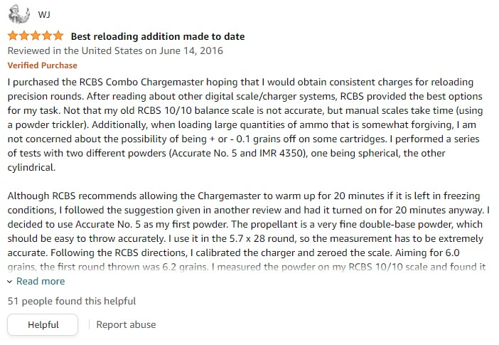 RCBS Chargemaster review